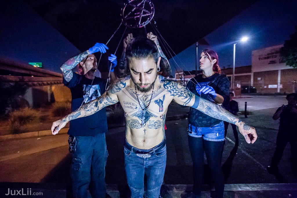 Hope St. Installation with Dave Navarro - Shot By Jux Lii
