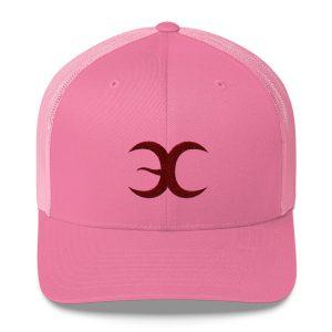 Pink Embrace Chaos Trucker Cap