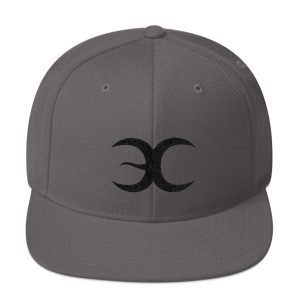 Grey Snapback Embrace Chaos Hat