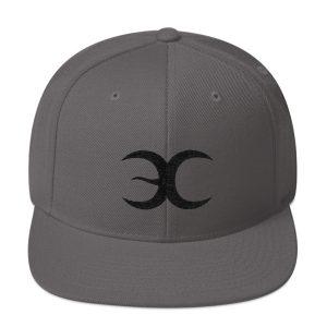 Grey Snapback Embrace Chaos Hat
