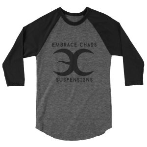 Embrace Chaos Black on Black Unisex Piercer Shirt