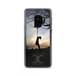 Embrace Chaos Suspensions Sunset Silhouette Samsung Case