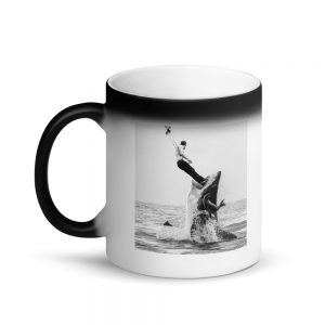 Embrace Chaos Shark Bait Magic Mug
